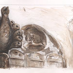 Mein Paderborn, Zeichnung auf Papier, 2011