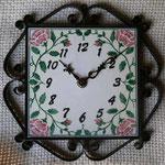 時計ポルトガルの花柄 ¥13000