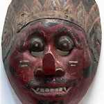 Topeng mask - 1920's