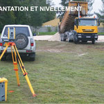 Implantation et nivellement