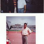 Joan Moraño con Abel Anton en los juevos olimpicos de barcelona 92