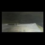 Dark side of the moon. Oil on linen. 90x45
