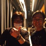 照明のチーフと舞台監督