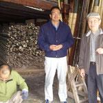 竹材を求めて伺った京都の植田竹材店