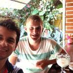 Mikkel y Carlos Guerra - Cafe San Rafael