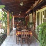 Inside Cafe San Rafael - Copan Ruinas, Copan, Honduras