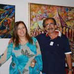 con il collega e amico Luigi Caputo