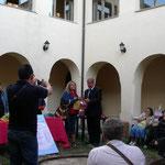 Premiazione alla pittrice Luigia Granata