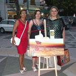 M.Teresa Aiello, io e Luigia Granata
