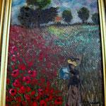 Omaggio a Monet_Acrilico su tela_anno 2001