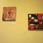 opere di Dina Lupinacci e Giuliana Franco