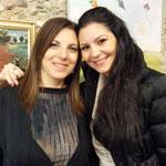 io e Maria Cristina De Pasquale (pittrice)