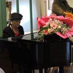 Pianista la signora Anna Maria Noto (storico)