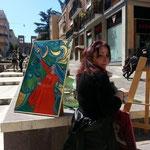 la pluripremiata e bravissima e poliedrica artista Rita Mantuano