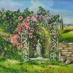 Il giardino dei ricordi_Acrilico su tela_anno 2006