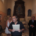 M° Luigi Greco direttore artististico e organizzatore della Rassegna d'arte