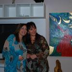 con la collega e amica Rita Mantuano