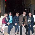 verso sera quasi a conclusione della manifestazione insieme al grande poeta dialettale cosentino Ciccio De Rose