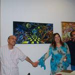 con il fraterno amico e collega Filippo Mazzei