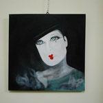 """il mio quadro """"Un riprovevole Pierrot"""""""