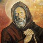 """San Francesco da Paola""_Acrilico su tela_30x40_anno 2012"