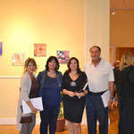 I colleghi Alba Abbritta, Giuliana Franco,io e il Professor Napolillo