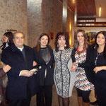 da dx sig.ra Franca moglie di Luigi Greco (M° d'arte), io, Rita Mntuano, Alessandra Primicerio e Katia di Leone (cantante, attrice e poetessa)