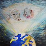 """Papi S. Giovanni XXIII e S.Giovanni Paolo II""_50x50_2014"