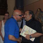 Il poeta e scrittore nonchè pittore Prof. Vito Scrivano