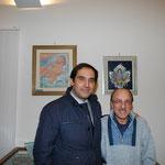 Filippo Mazzei con il Sindaco di Castrolibero