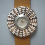 Schmuckscheibe Mosaik aus Turmschnecken