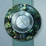 Schmuckscheibe Mosaik Abaloneschnecke