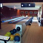 Die Bowlingbahn im Ferienpark