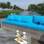Nettes Cafe zwischen Andijk und Medemblik