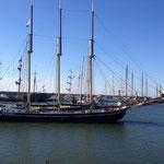 Segelschiff vor Lelystad