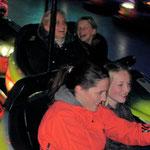 Isa, Gisa, Jenny und Linda haben Spass