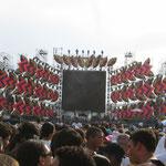 A uns 60m do palco, dentro de algumas horas... The Rolling Stones (2006)