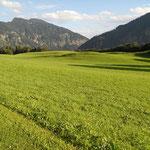 Landschaftsfoto in der Talsohle des Wendelstein