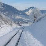 Blick aus der Pinzgaubahn
