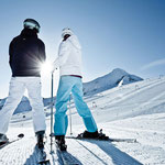 Skifahrer-Paradies