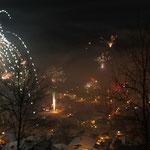 Impressionen vom Gästebalkon Silvester2012/13