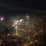 Impressionen vom Gästebalkon Silvester 2012/13