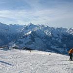 Blick von Schmittenhöhe