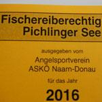 Bestimmungen Pichlingersee2016