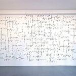 """""""cross-towns"""", installation 5m/3m. Photo D. Béquillard."""