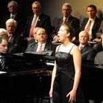 Foto 6.12.10 mit Sopranistin