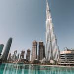Burj Khalifa in Dubai mit anschliessender Shopping Ball