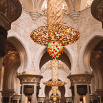 Sheikh Zayed Moschee in Abu Dhabi