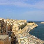 Der Hafen von La Valletta