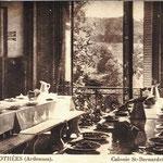 Colonie : la salle à manger